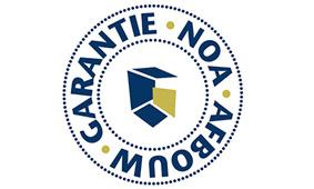 Noa afbouw garantie logo
